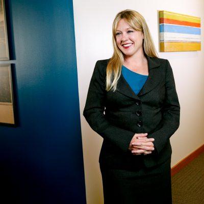Professional Lawyer Headshot in Portland