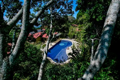 Salt Water Pool at Pura Vida Spa in Costa Rica