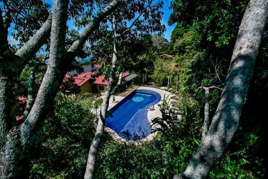 Salt Water Pool at Pura Vida Spa in Costa Rica