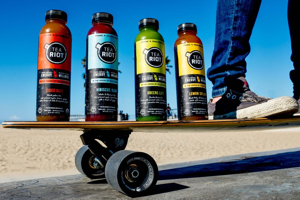 Lifestyle Product photo for TeaRiot in Los Angeles at Venice Beach