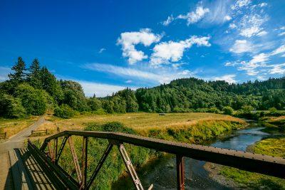 Cascade Farm Lands Scenery