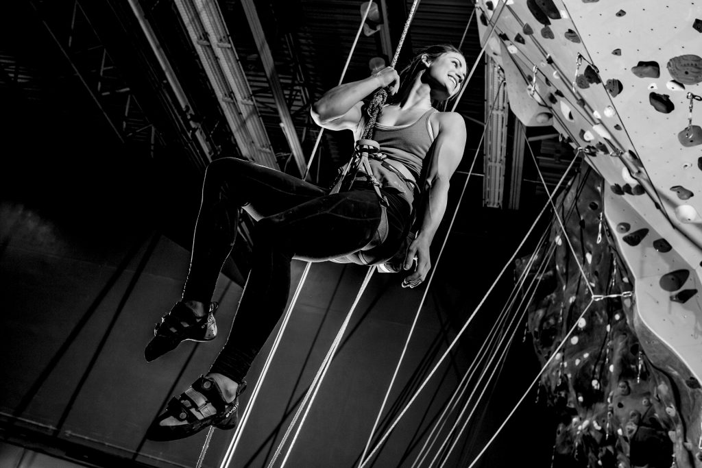 Rock Climbing at Multnomah Athletic Club in Portland