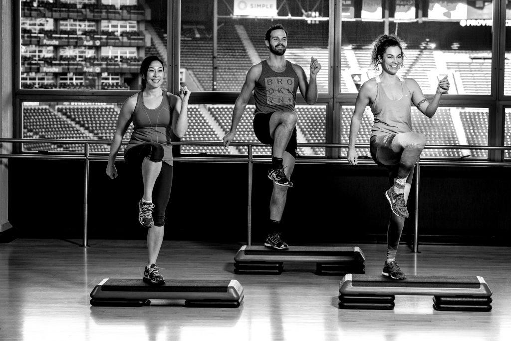 People exercising at Multnomah Athletic Club in PortlandPeople exercising at Multnomah Athletic Club in Portland
