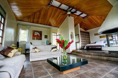 Master Suite at Pura Vida in Costa Rica Spa and Retreat Center