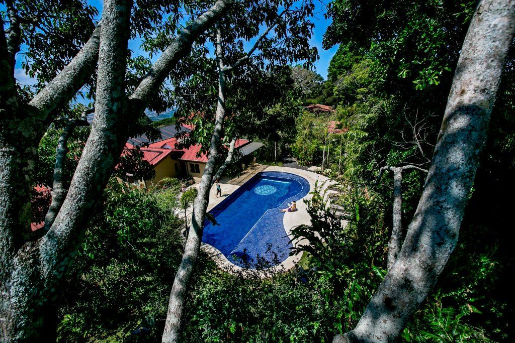 Salt Water Pool at Pura Vida Spa and Retreat