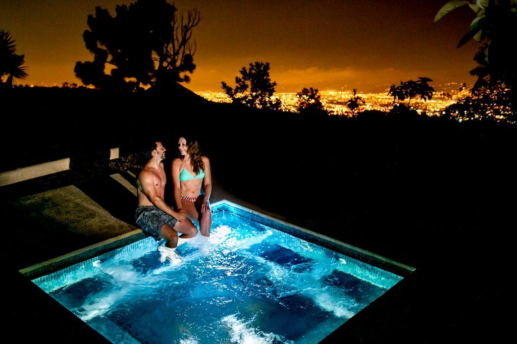 Hot Tub at Pura Vida Spa and Retreat in Costa Rica