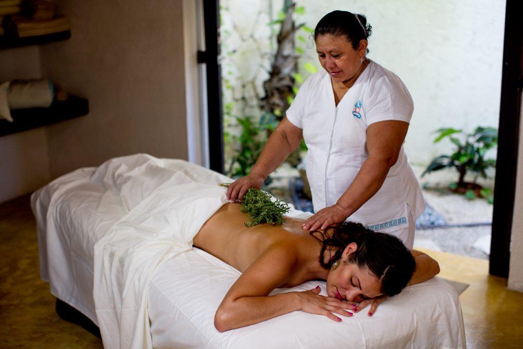 Massage at Maya Tulum Spa Retreat Mexico