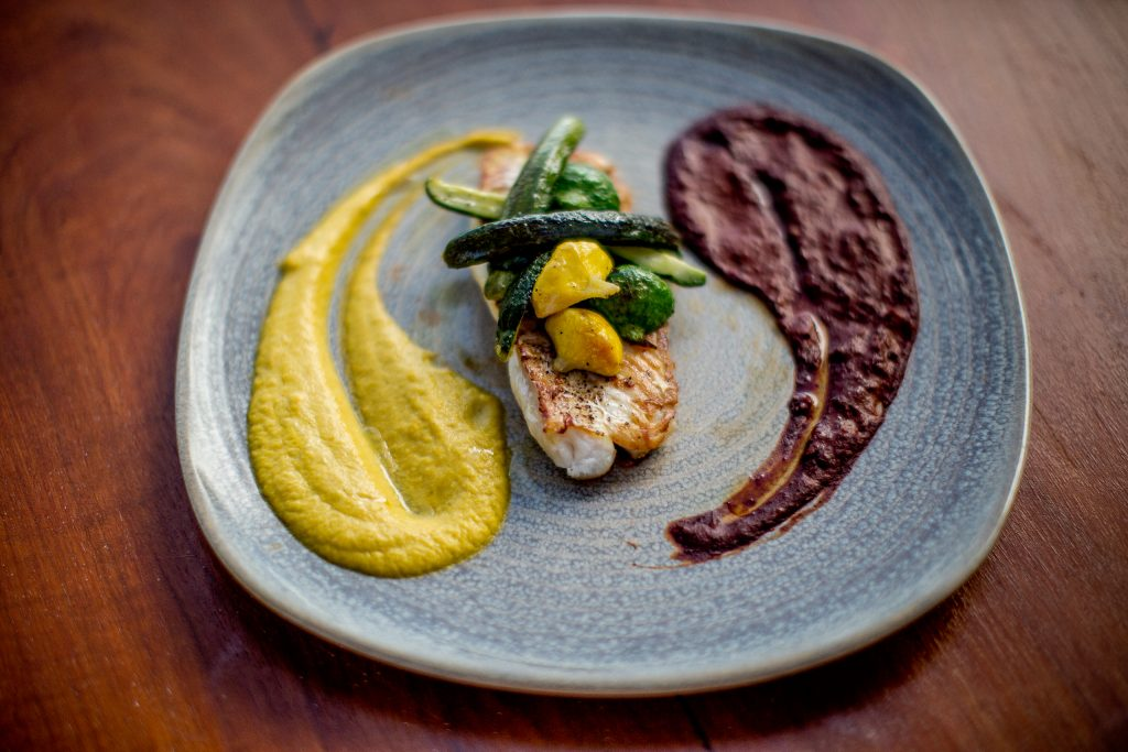 Gourmet Food at Maya Tulum Spa Retreat Mexico