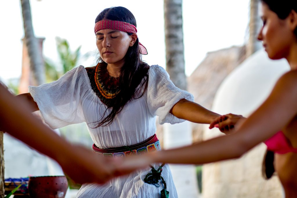 Temazcal Mayan Sweatlodge at Mayatulum Spa and Resort Mexico