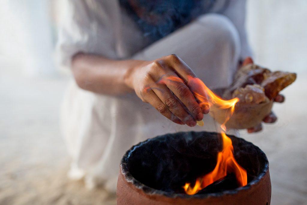 Maya Tulum Spa and Resort Mayan Sweat Lodge Ritual